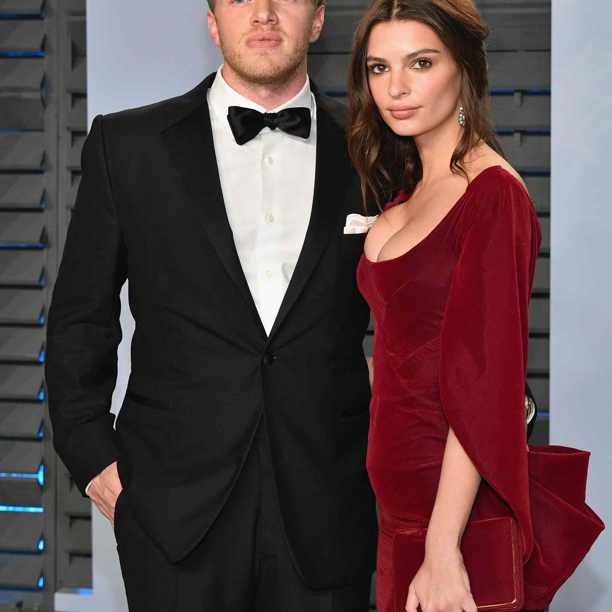Emily Ratajkowski and Sebastian