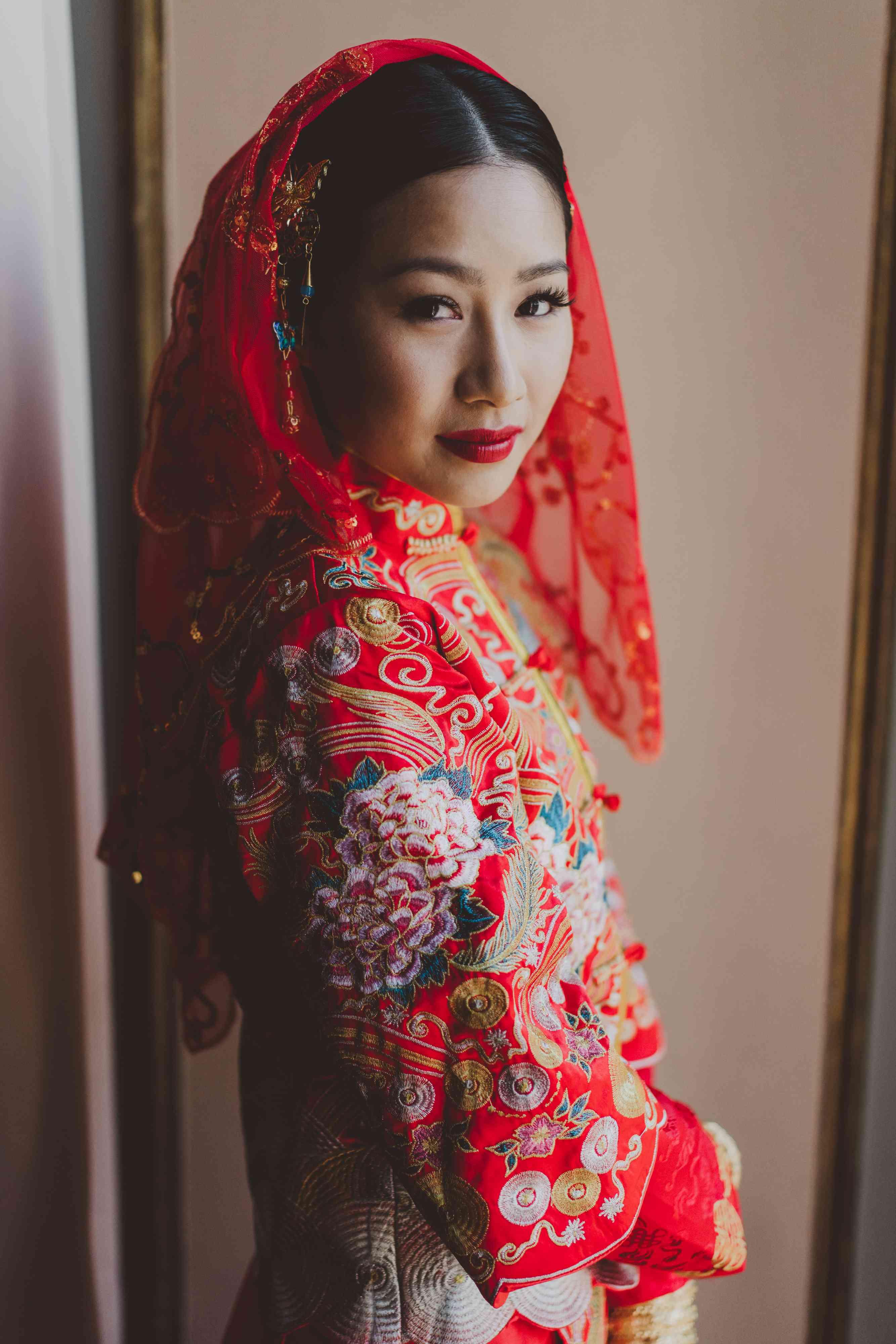 bride tea ceremony