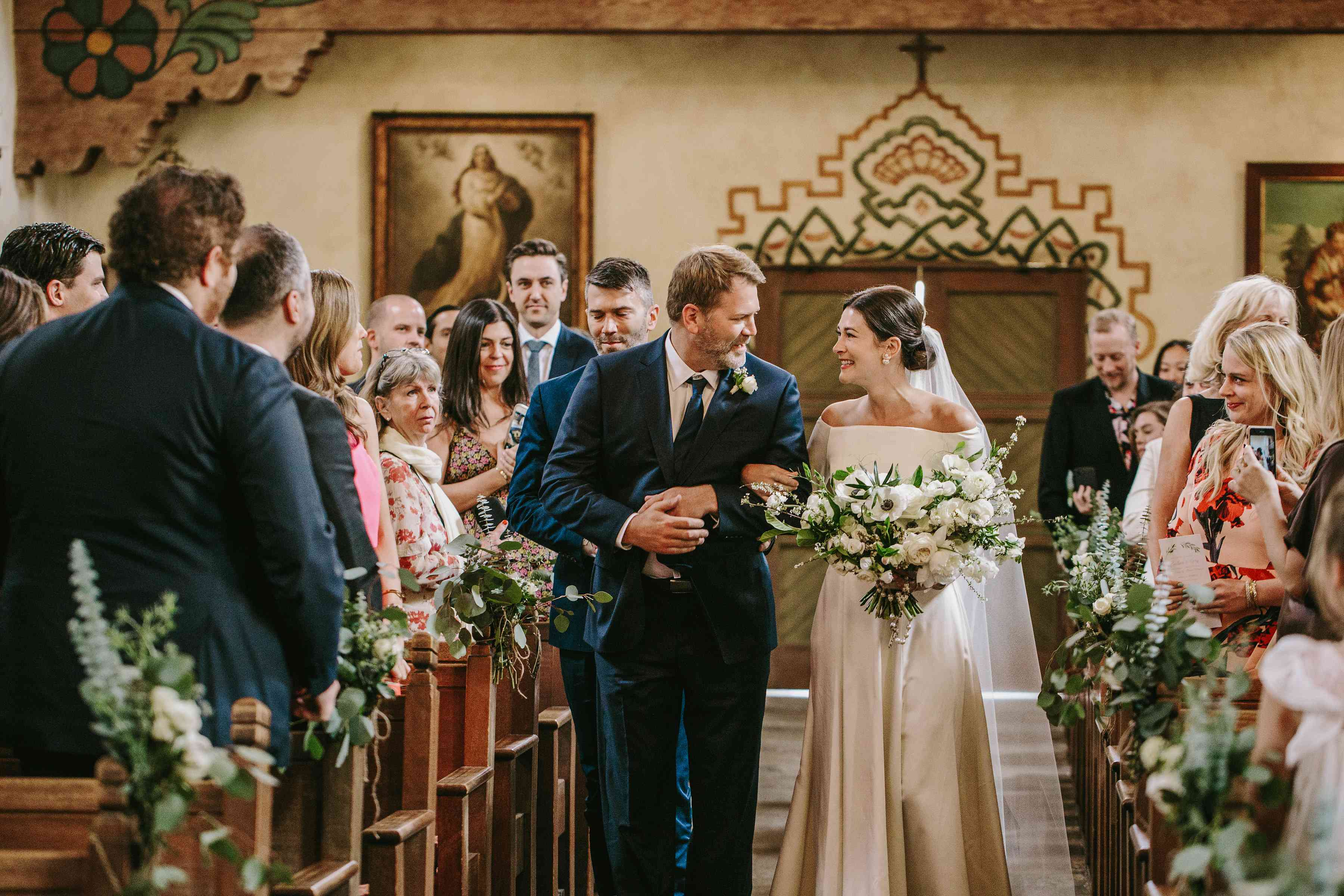 <p>brother walking bride down aisle</p><br><br>