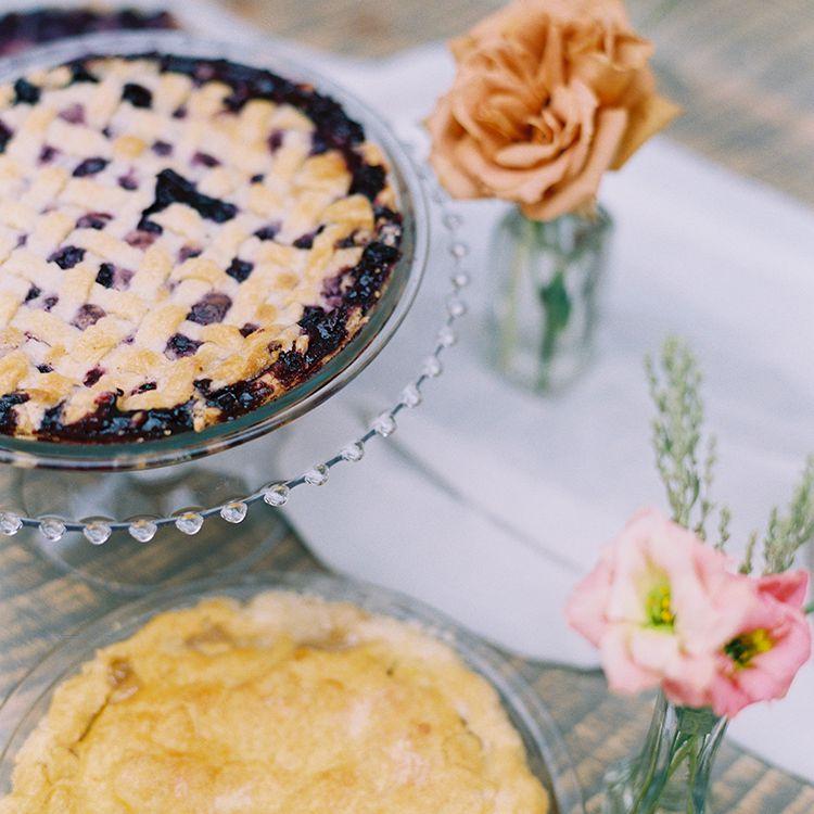 <p>homemade pies</p>