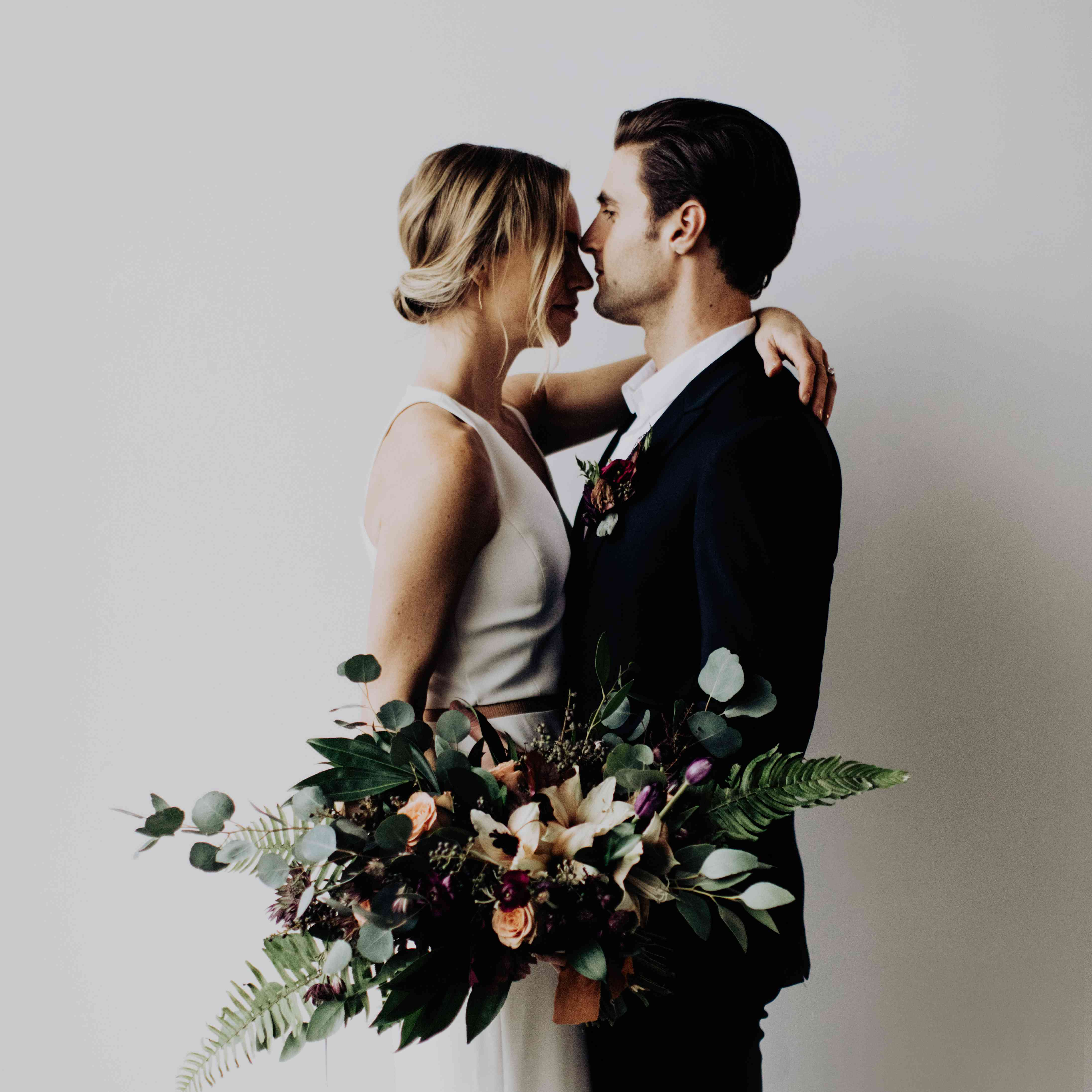 <p>bride and groom intimate</p><br><br>