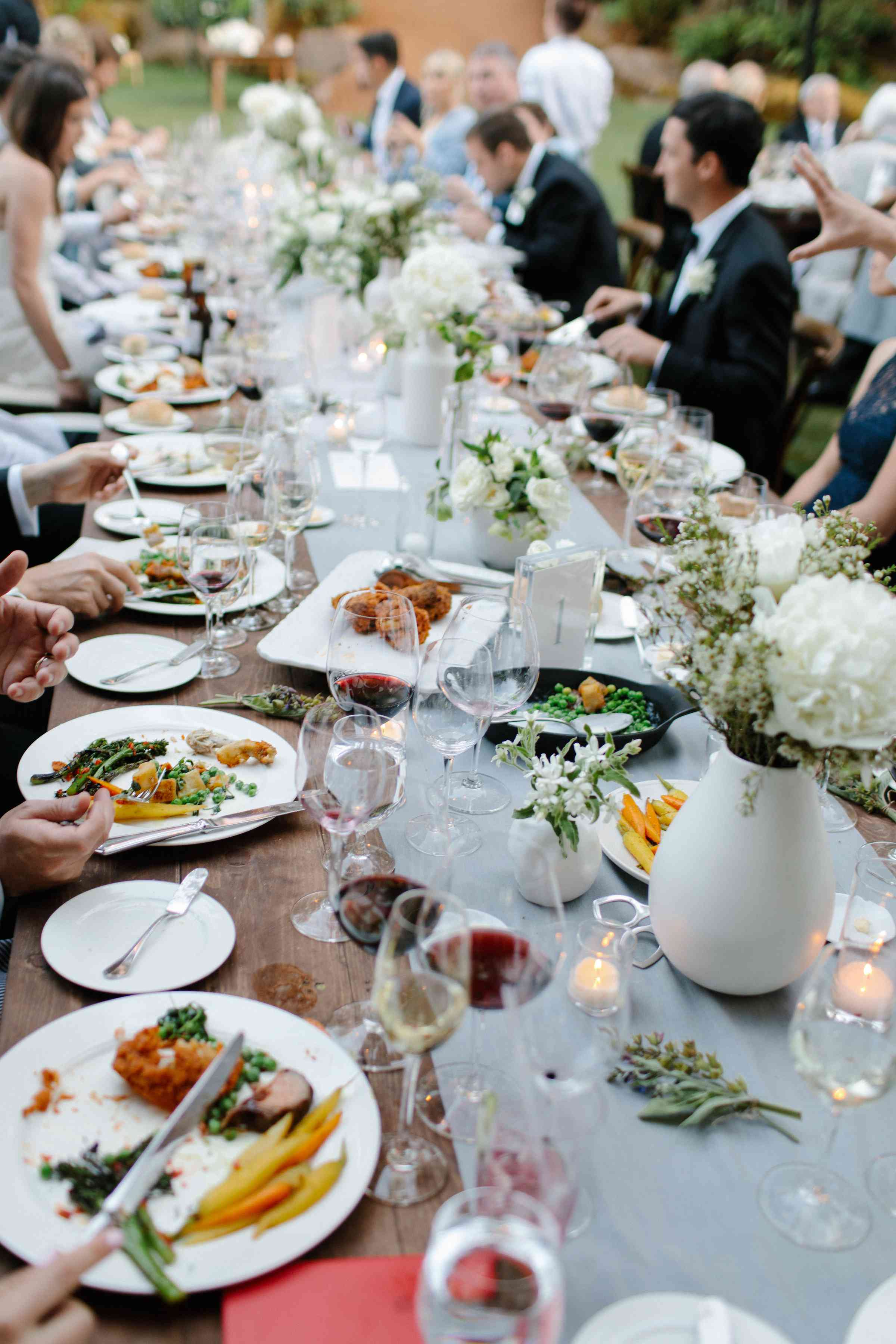 <p>family style reception dinner</p><br><br>