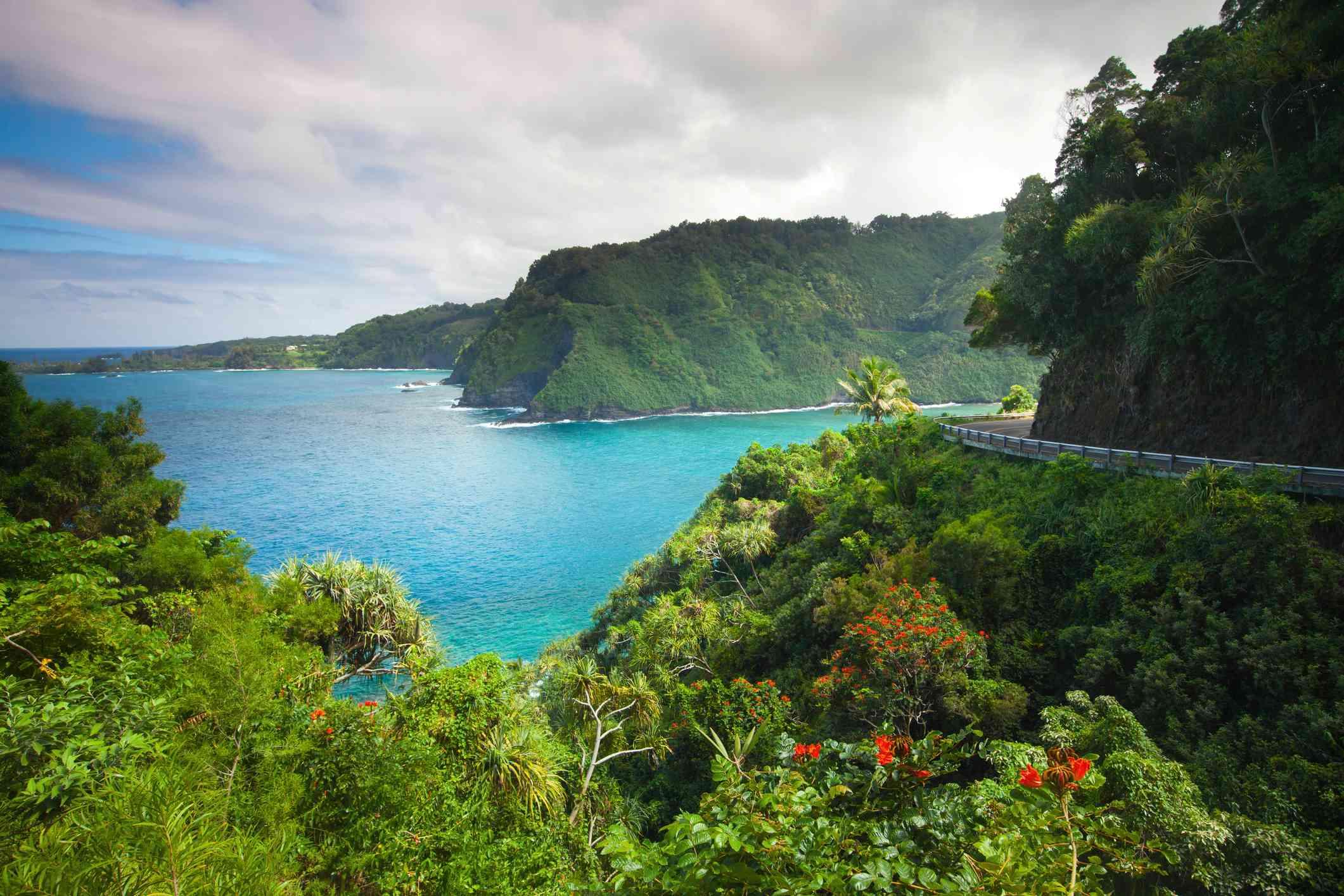 Ocean in Maui, Hawaii