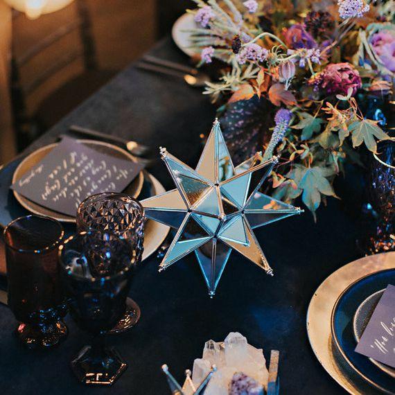 Star decor for reception