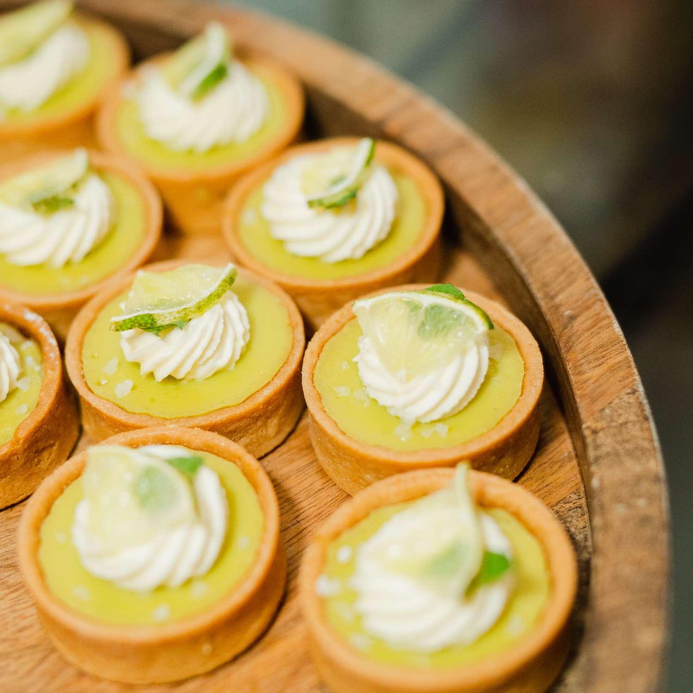 Mojito Lime Tarts