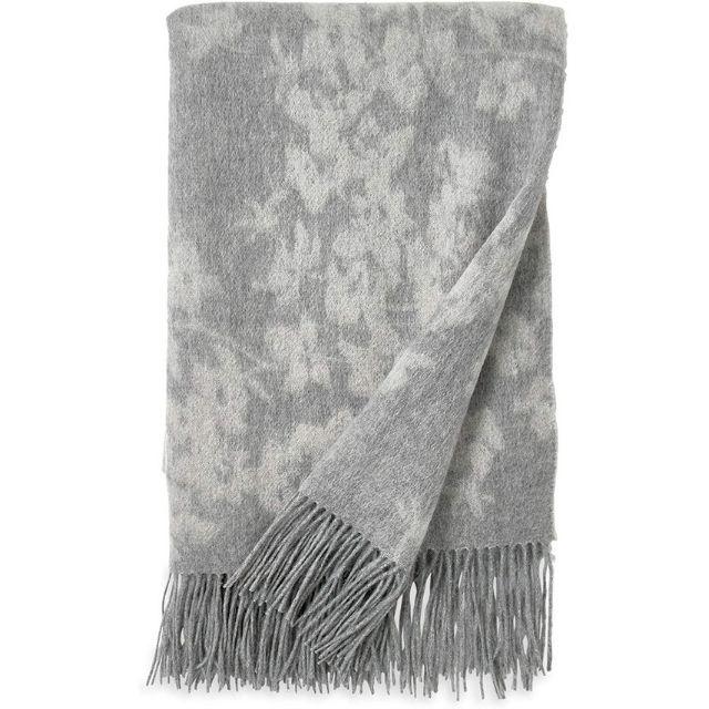 Michael Aram Orchid Wool Throw Blanket