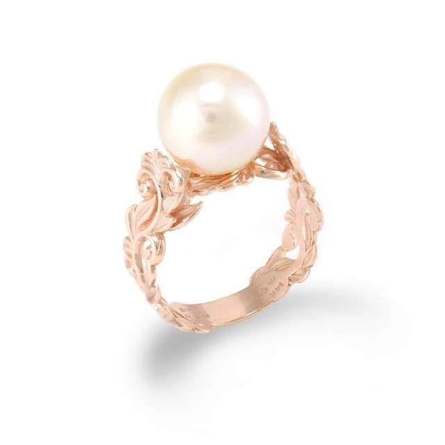 Maui Divers Jewelry Hawaiian Heirloom Fresh Water Pearl Ring