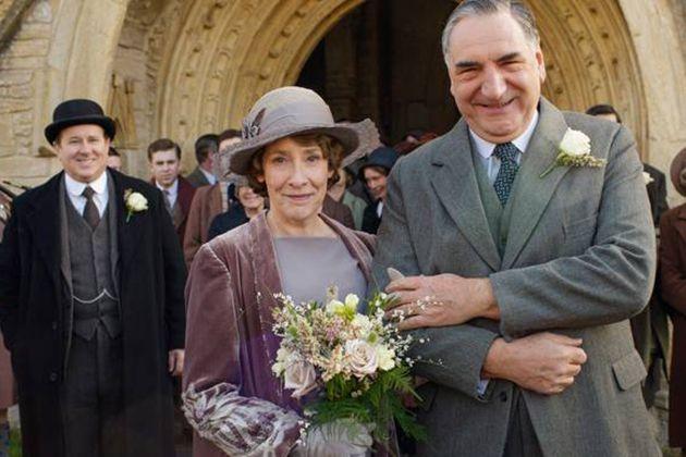 downton abbey weddings mrs. hughes