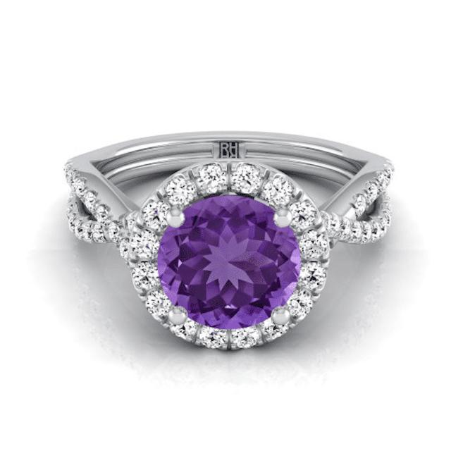 Audra Amethyst Ring