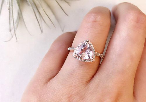 36 Trillion Shaped Engagement Rings For Modern Brides