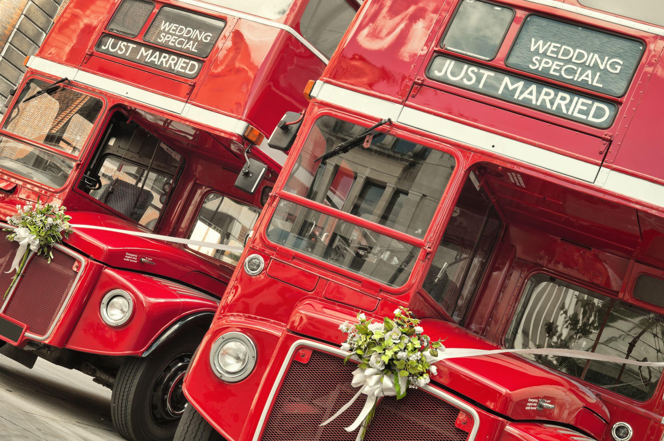 Arrangement of transport for wedding guests