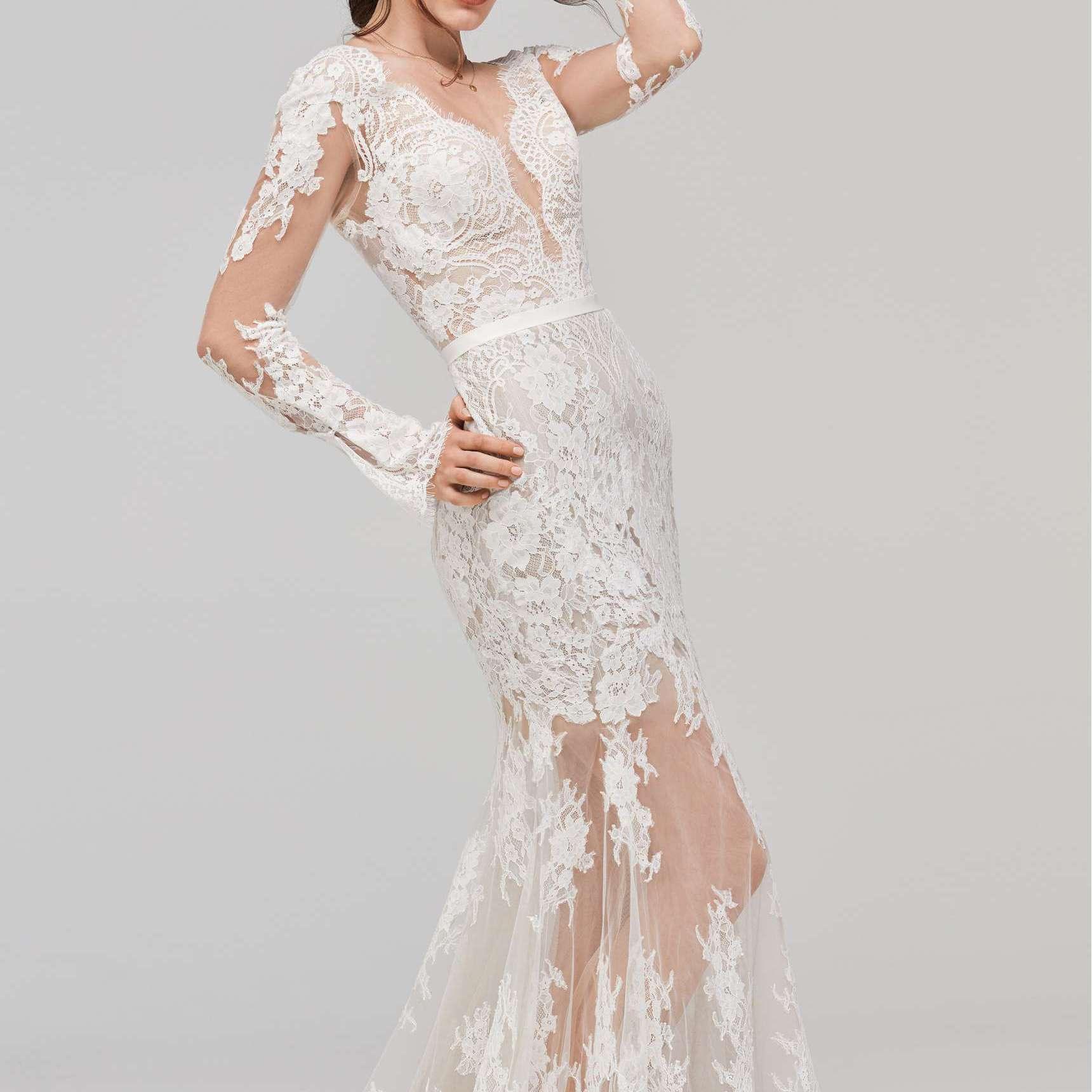 Nordstrom Wedding Dresses.33 Tasteful Illusion Wedding Dresses For Daring Brides