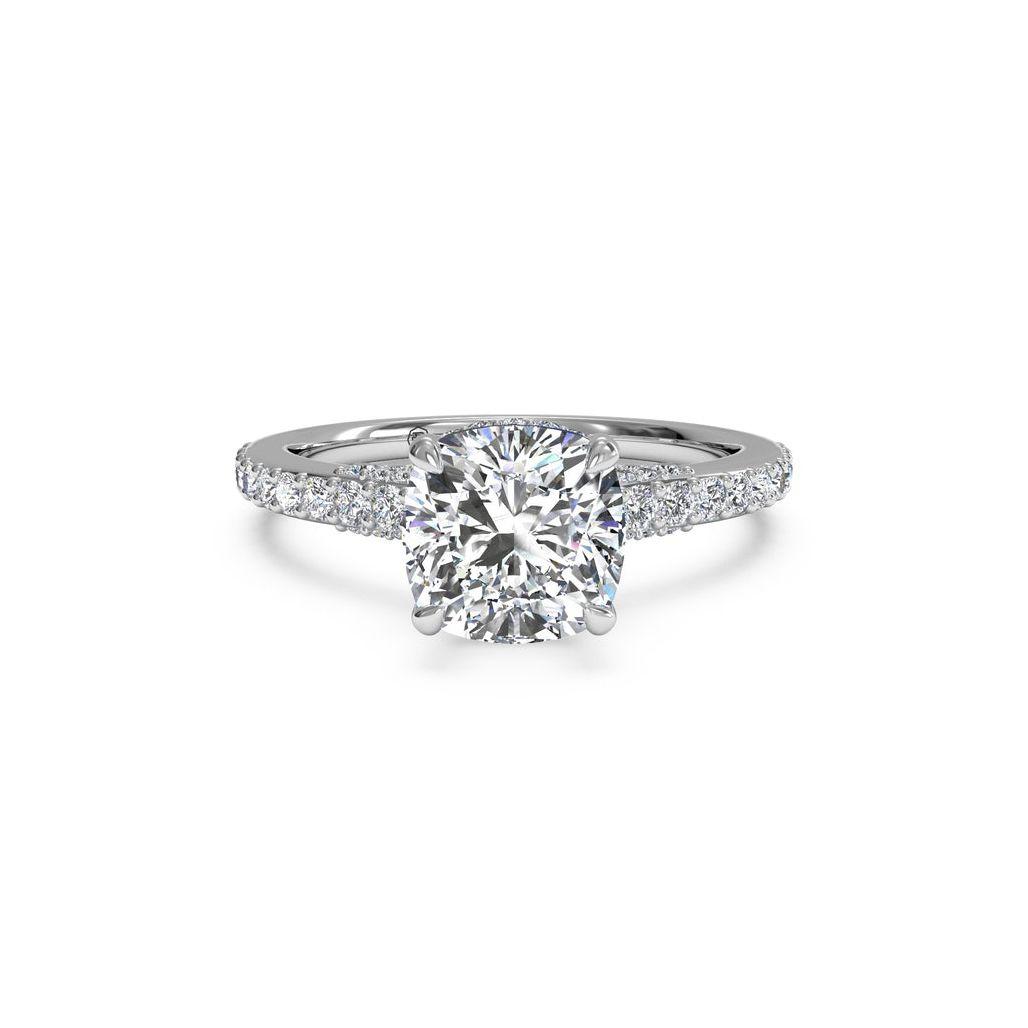 57 Exquisite Cushion Cut Engagement Rings