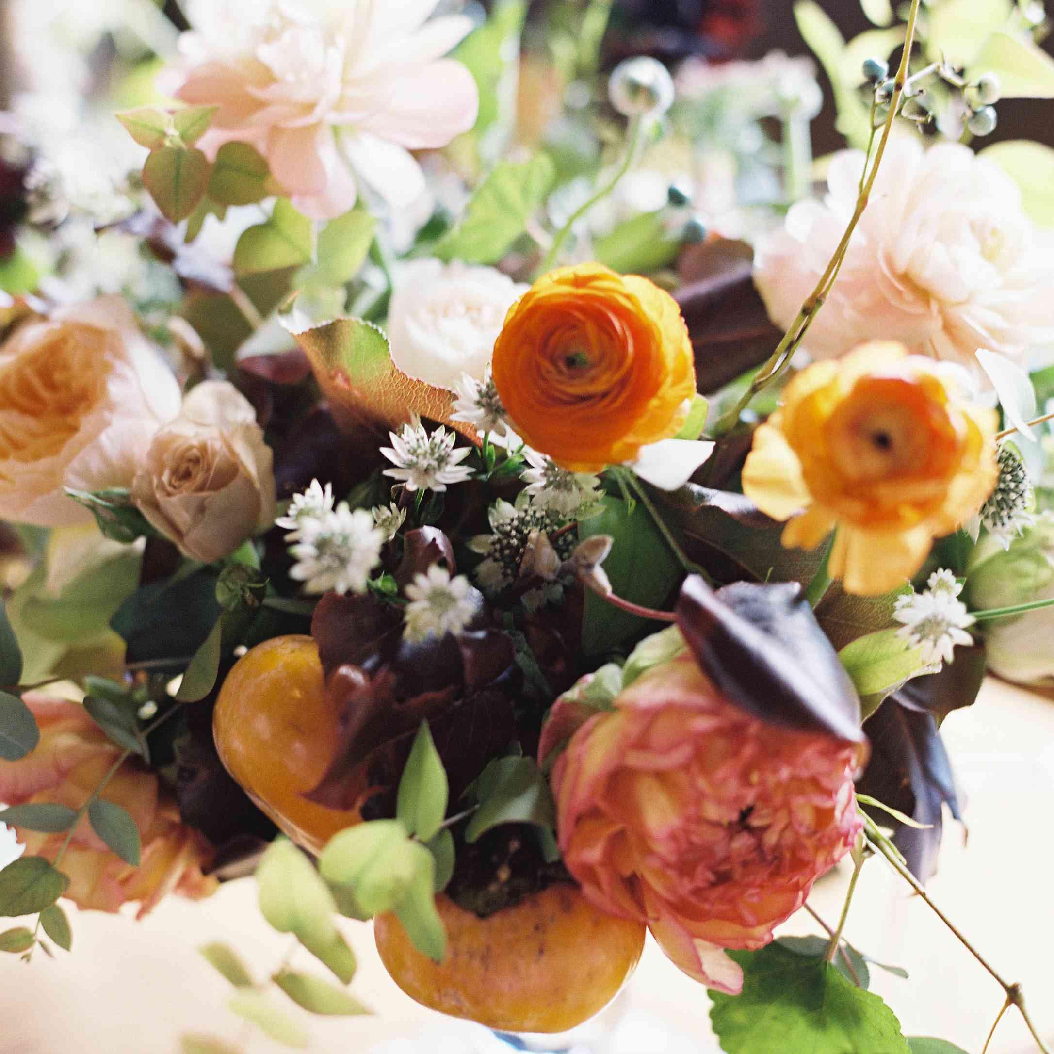<p>Floral centerpiece</p><br><br>