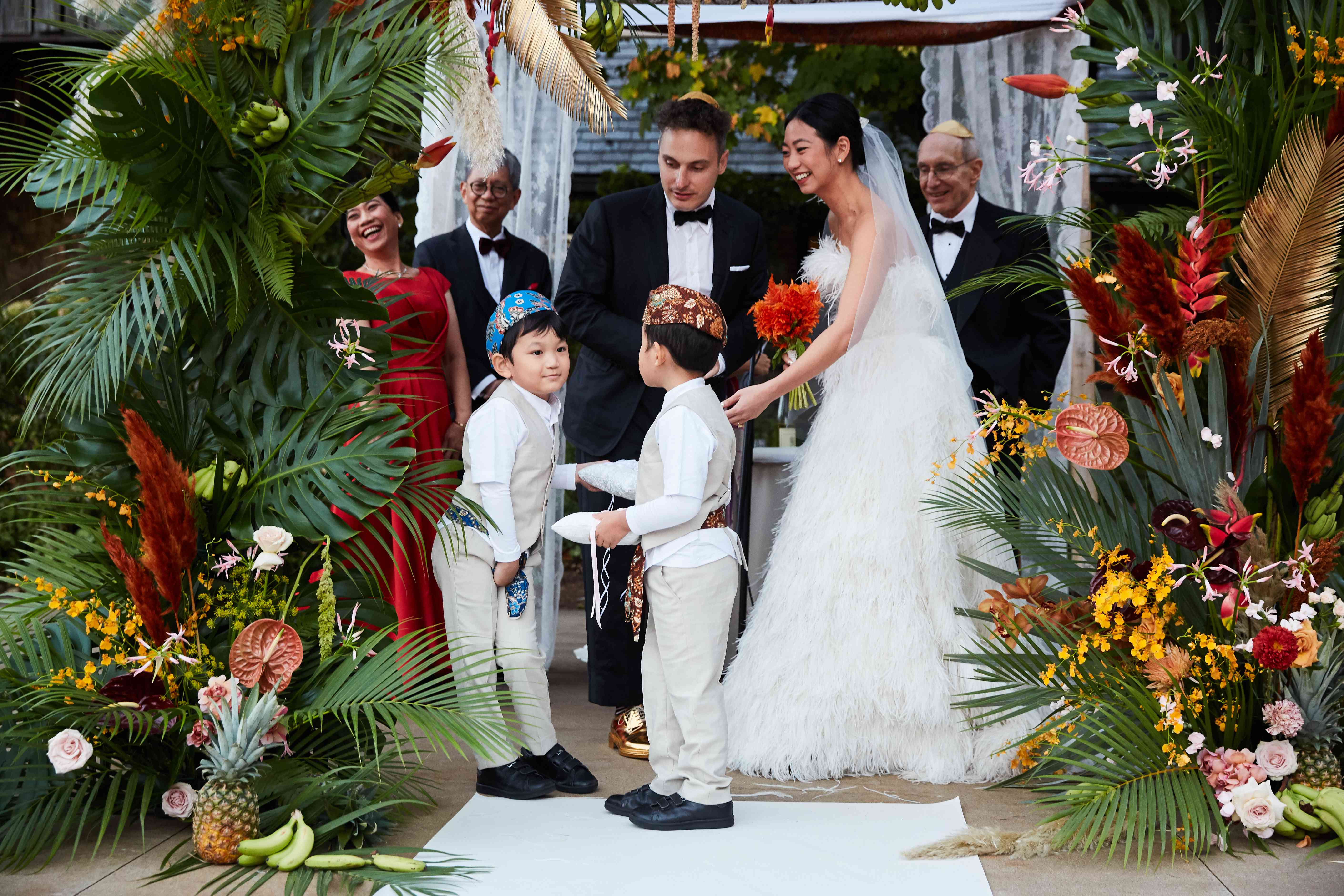 <p>ceremony ring bearers</p><br><br>