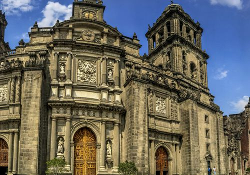 Mexico City's historic center is a huge tourist draw.