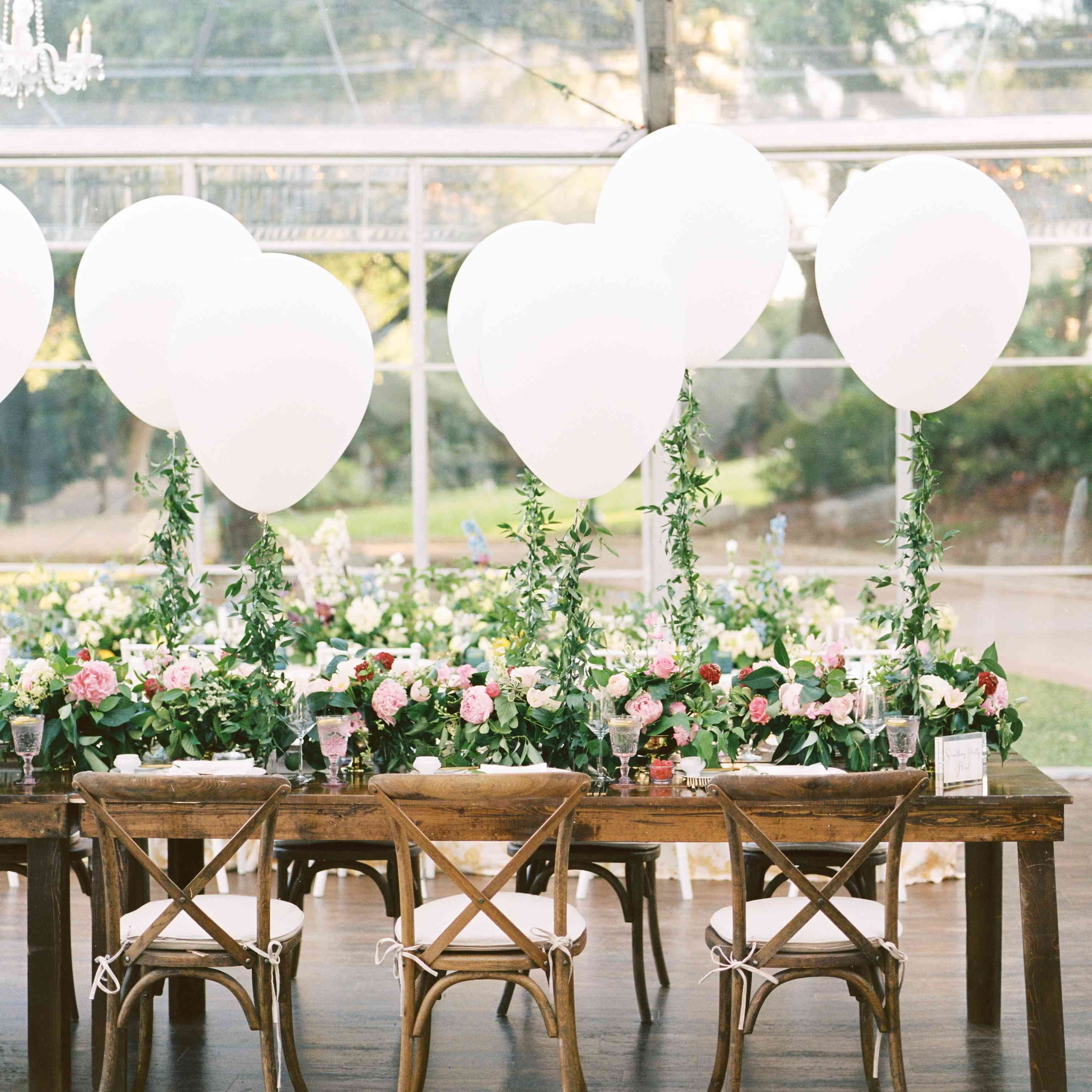 Balloon Decorations For Wedding Reception Ideas: 19 Ways To Use Balloons In Your Wedding Decor