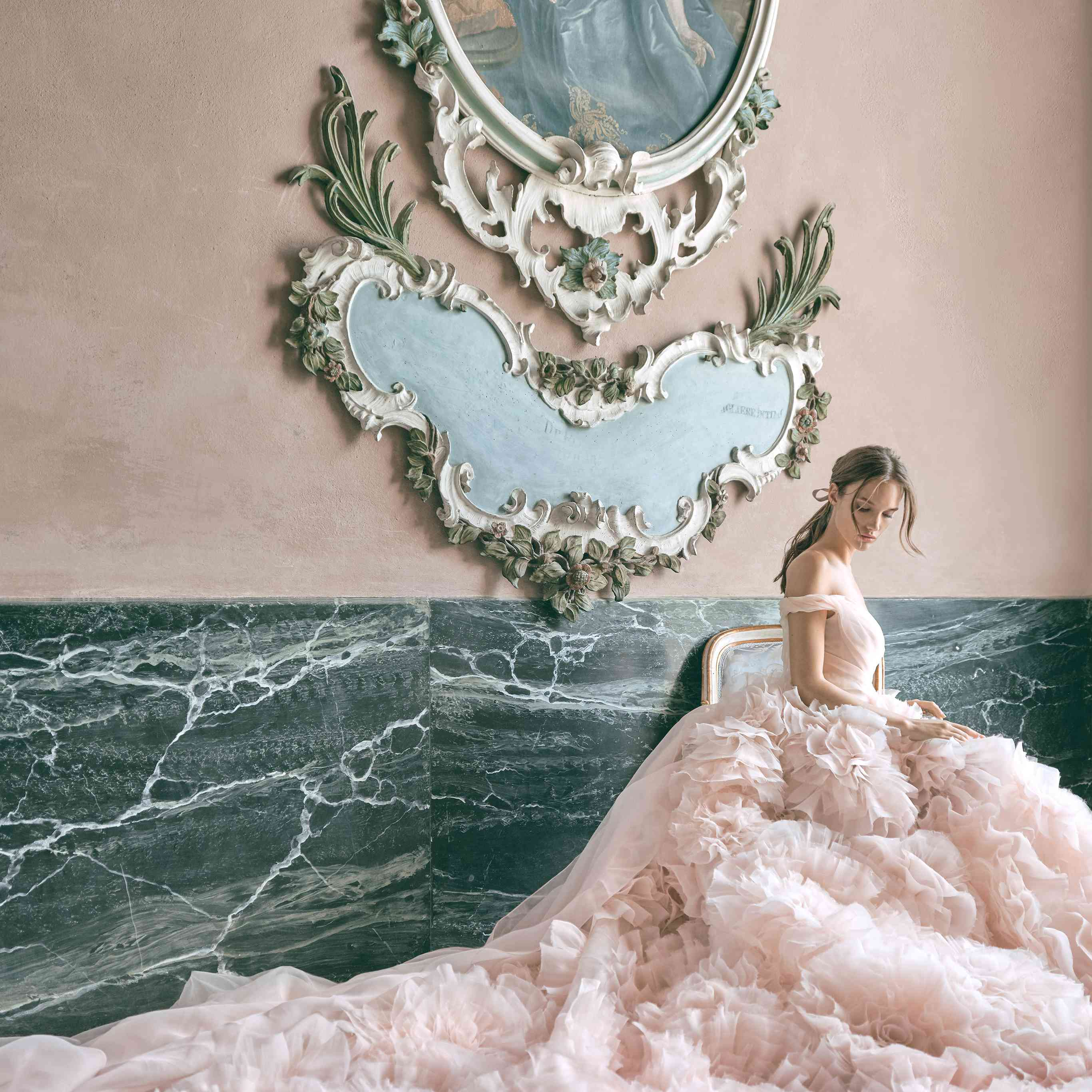 Secret Garden: Monique Bridal & Wedding Dress Collection Fall 2020