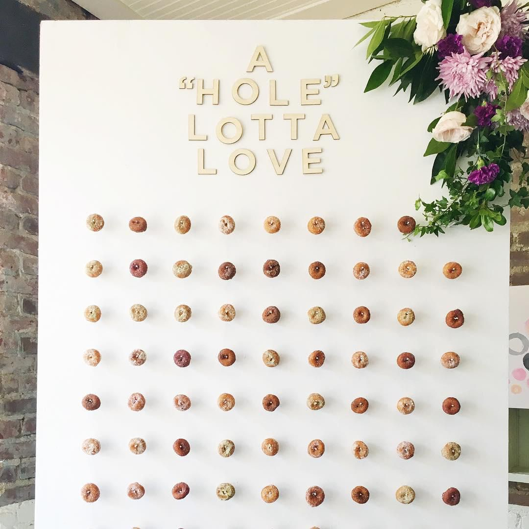 6 Epic Ways to Pull Off a Doughnut Wall at Your Wedding