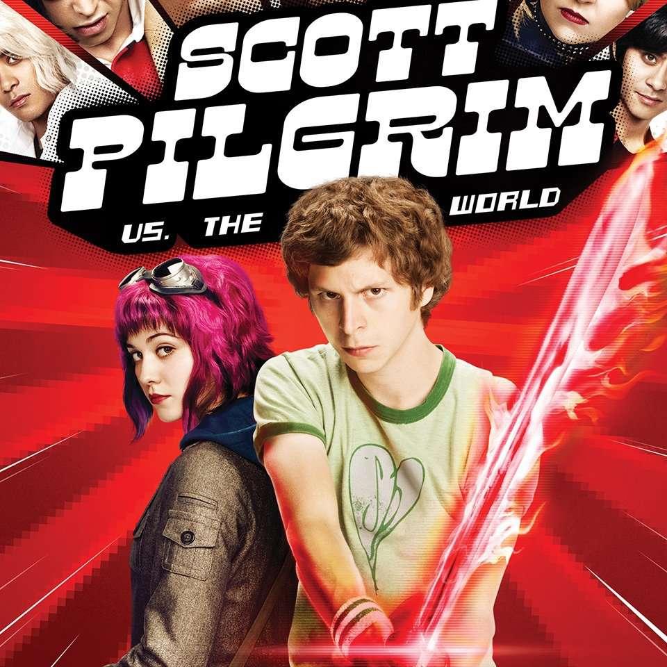 Scott Pilgrim vs. The World movie poster