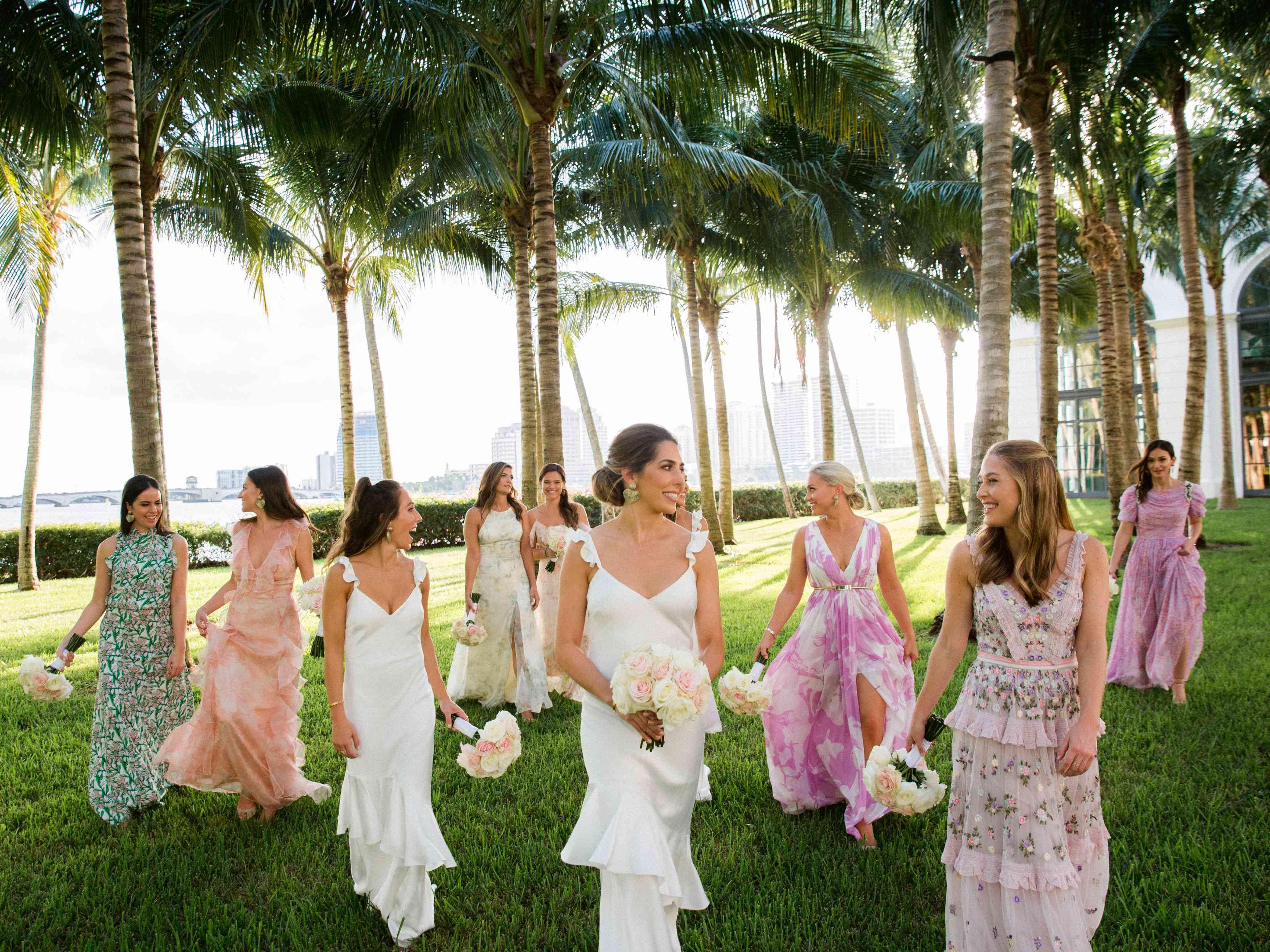 <p>bridesmaids</p><br><br>