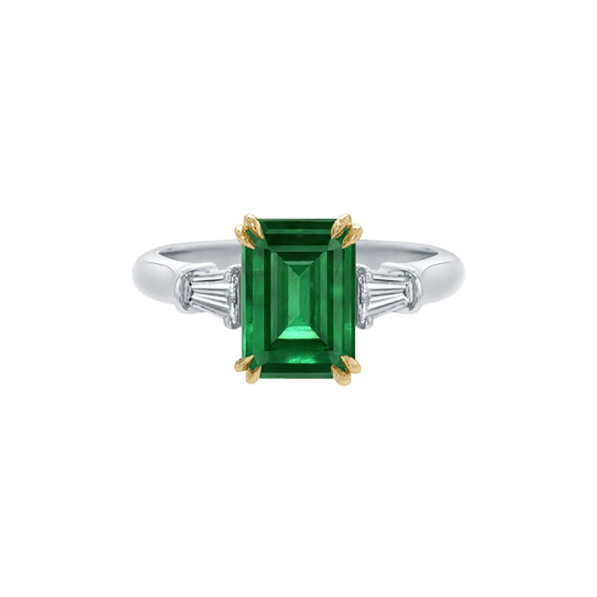 450234760f83a 37 Elegant Emerald Engagement Rings