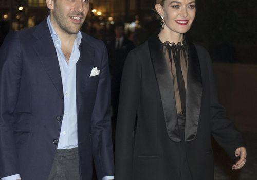 Carlos Torretta and Marta Ortega