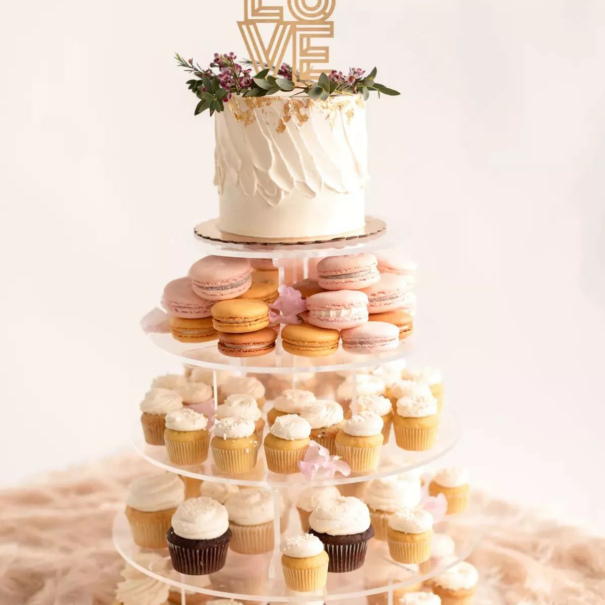 display of sweets
