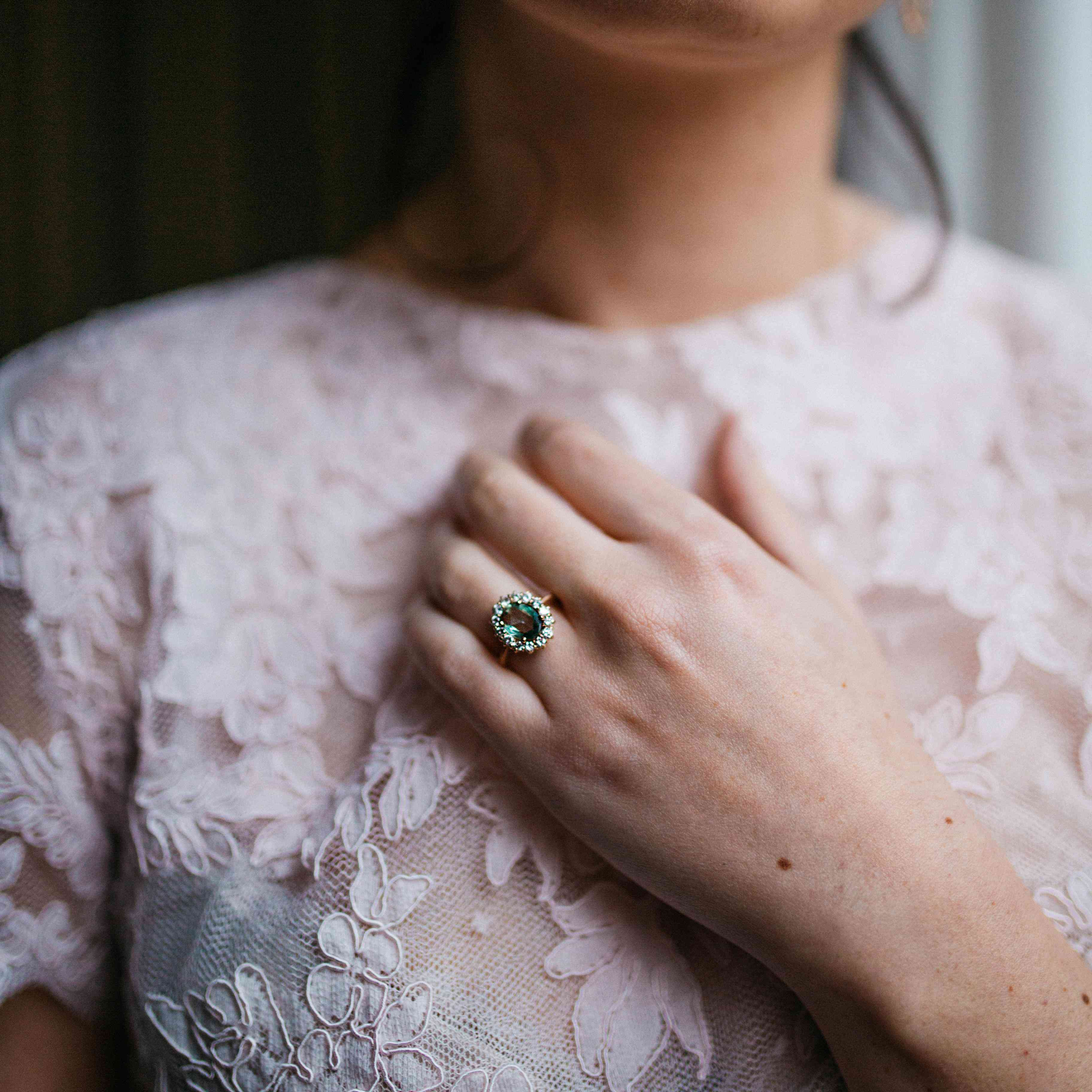 54 Engagement Rings With Colored Stones