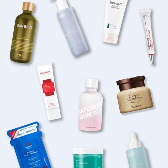 Soko Glam 10-Step Korean Skincare Routine Set