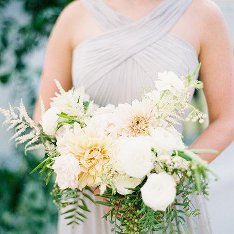 A classic white bouquet