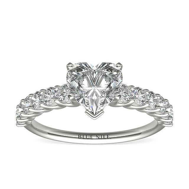 Blue Nile Luna Diamond Engagement Ring
