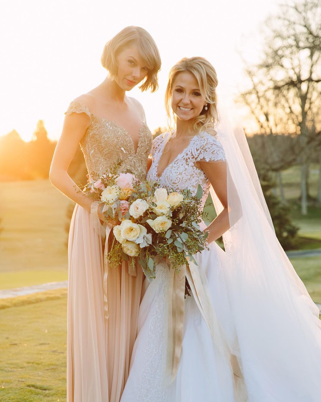10 Best Celebrity Wedding Guest Dresses: 49 Times Celebrities Were Bridesmaids