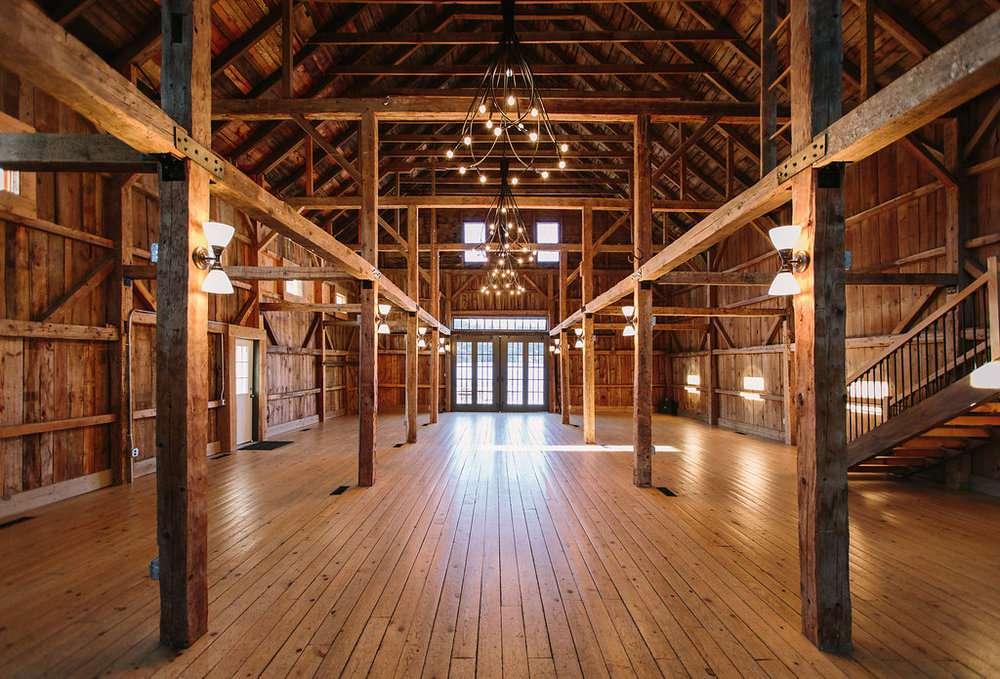 The Wedding Barns of Maine