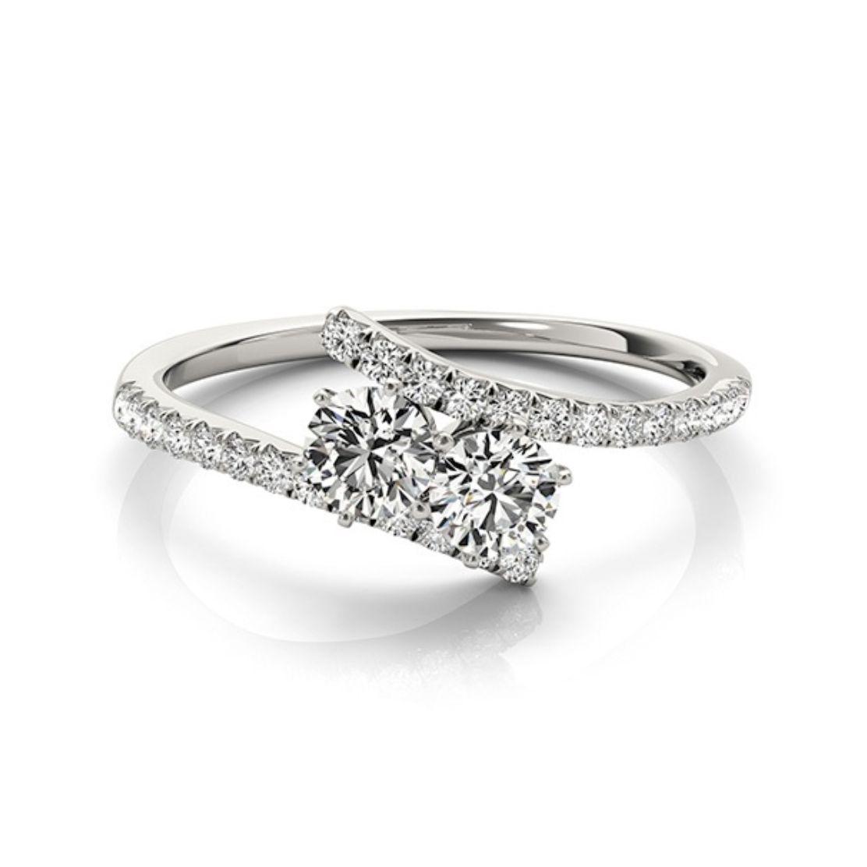 Yates Jewelers Christina Two Stone Diamond Ring
