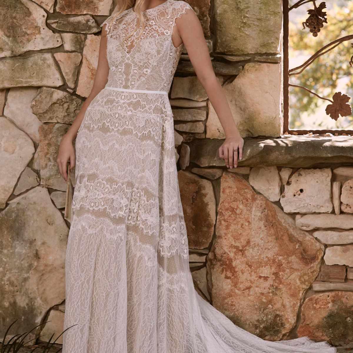 35 Tasteful Illusion Neckline Wedding Dresses,Wedding Dresses Abilene Tx