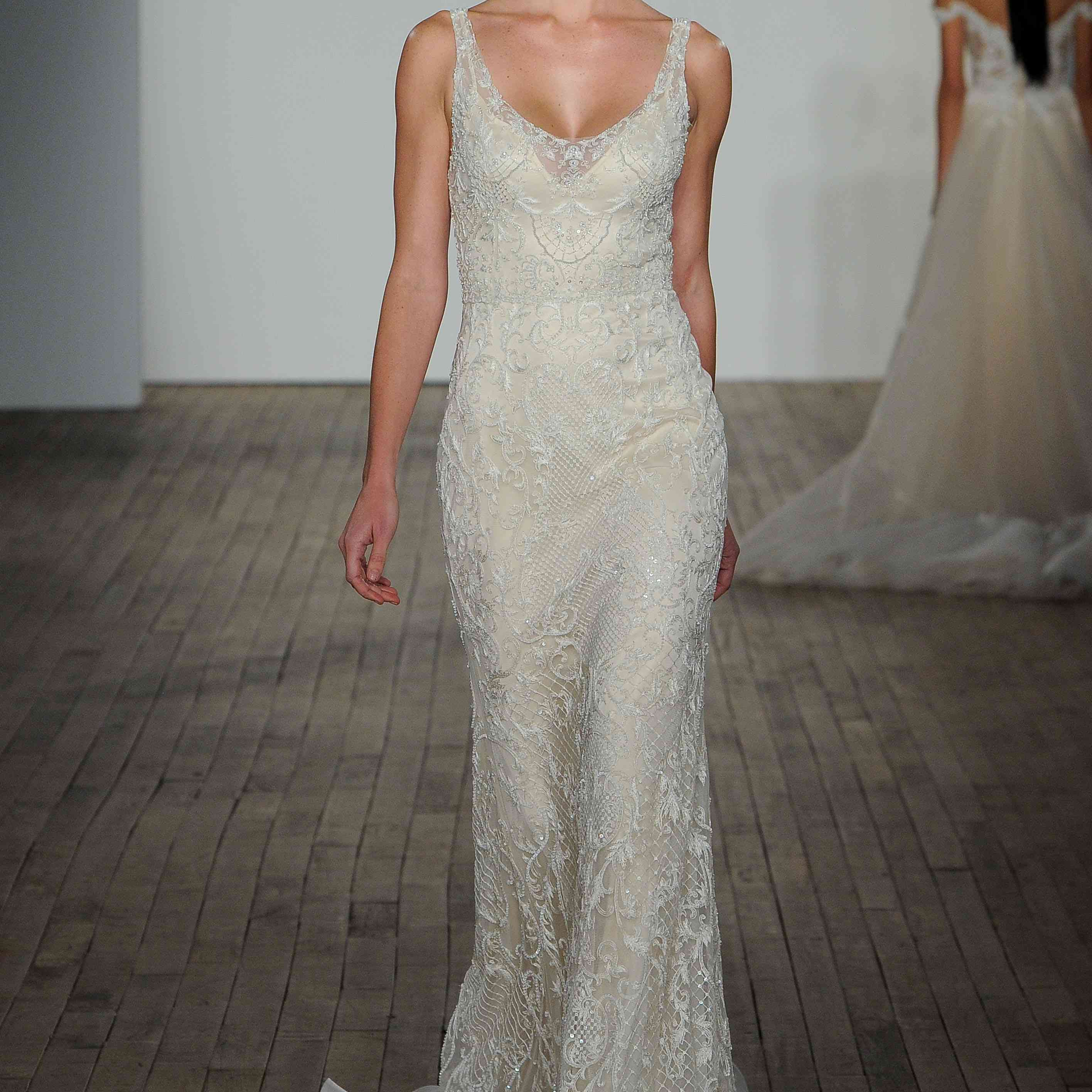 Cynthia fitted wedding dress by lazaro
