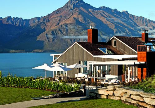 Matakauri Lodge in Queenstown, New Zealand