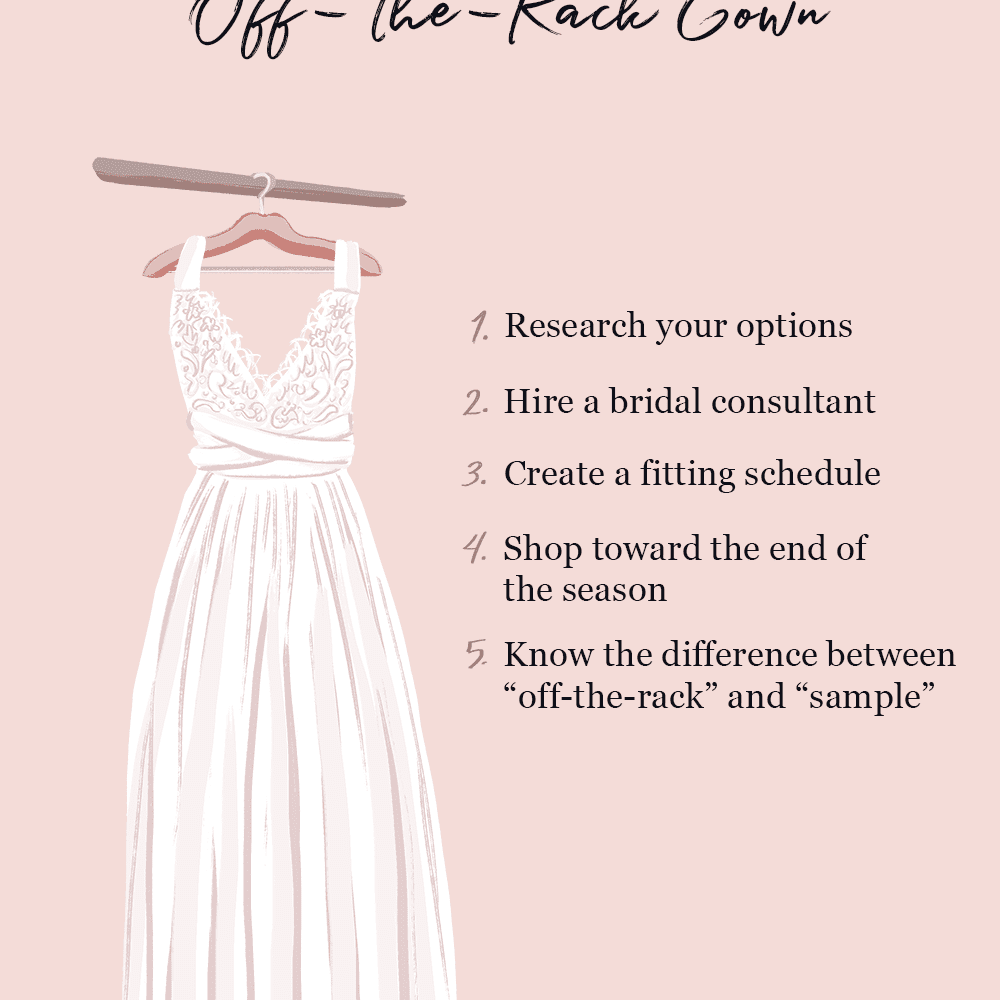 Tips for Buying an Off the Rack Gown