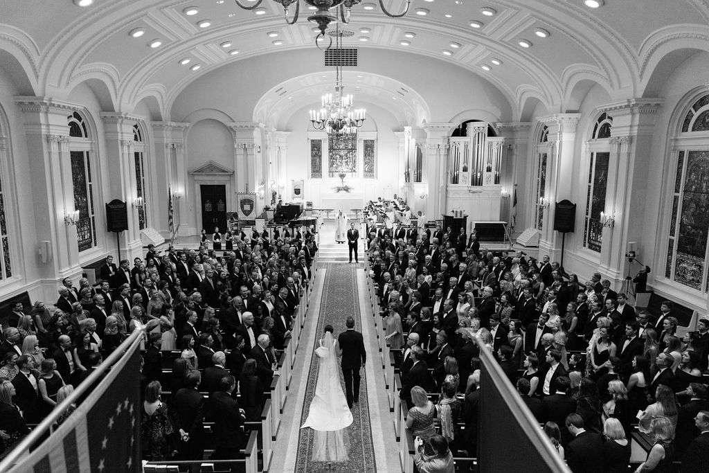 augusta wedding, church ceremony