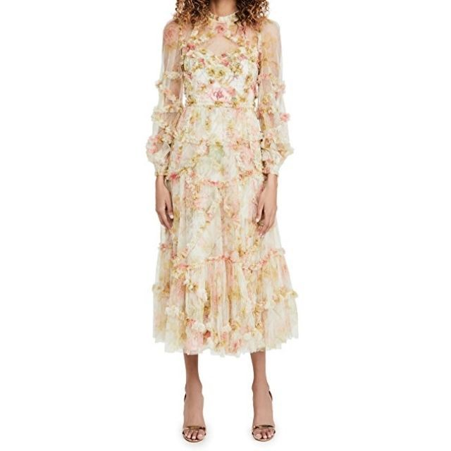 Needle & Thread Floral Dress