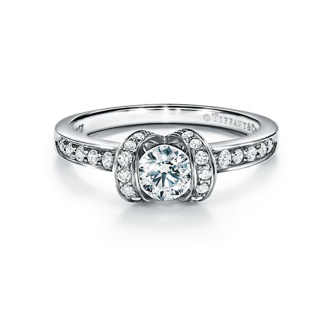 Tiffany & Co. Ribbon Engagement Ring