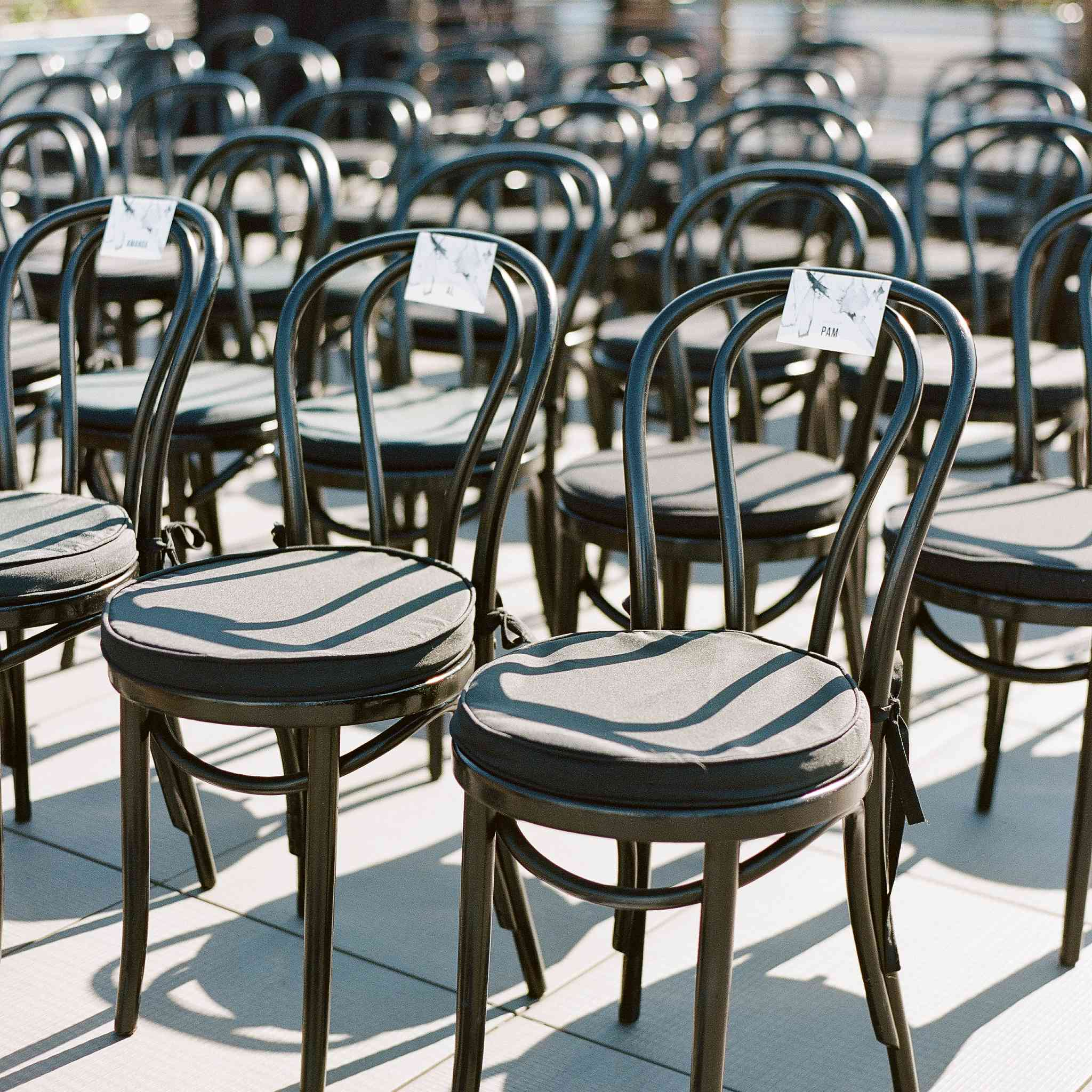 <p>outdoor ceremony seating</p><br><br>