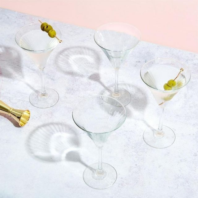 Willow Park Sutherland Martini Glasses, Set of 4