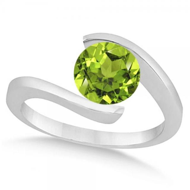 Allurez Peridot Ring