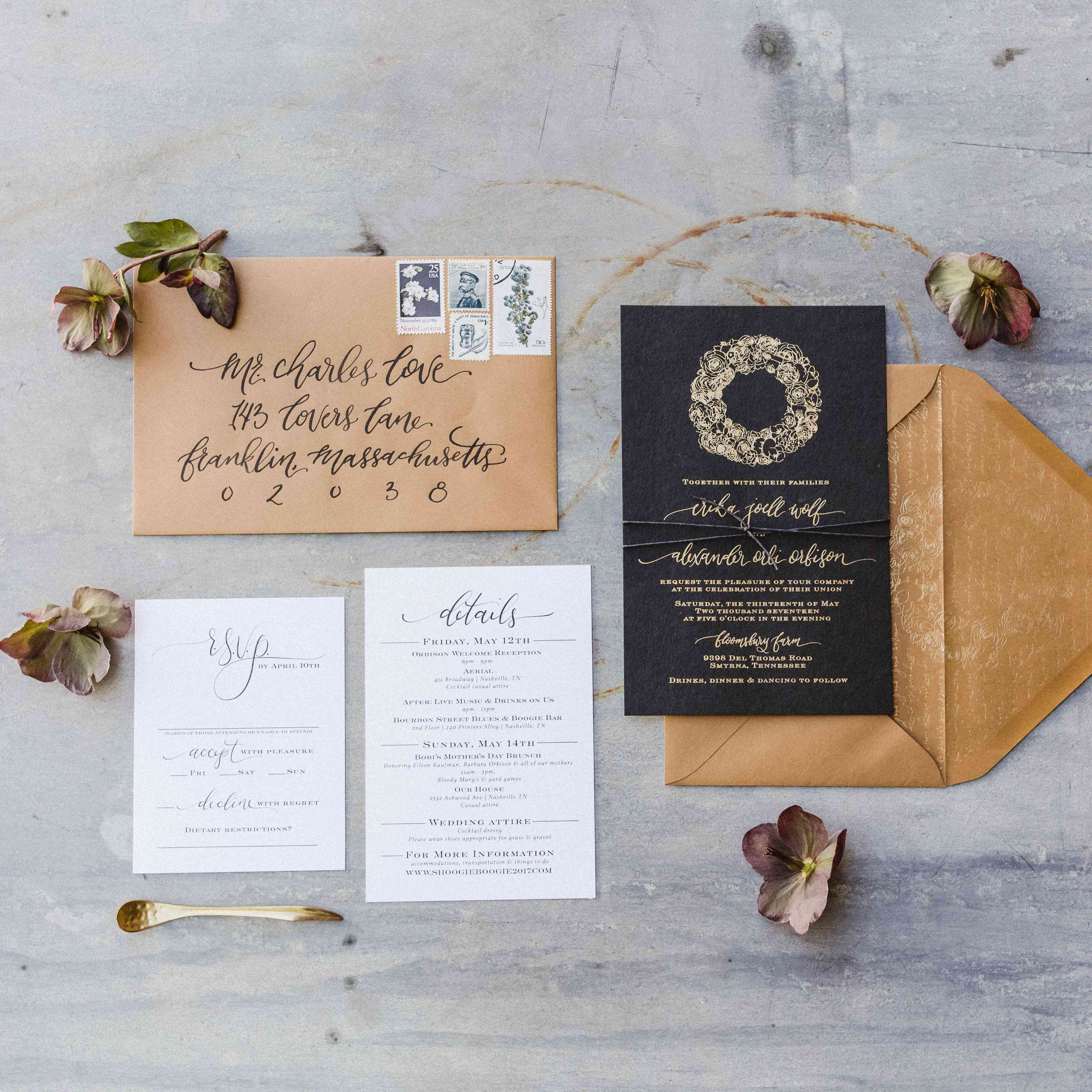 Story Guide To Wedding Invitation Wording: The Story Behind How To Traditionally Word Wedding Invitations