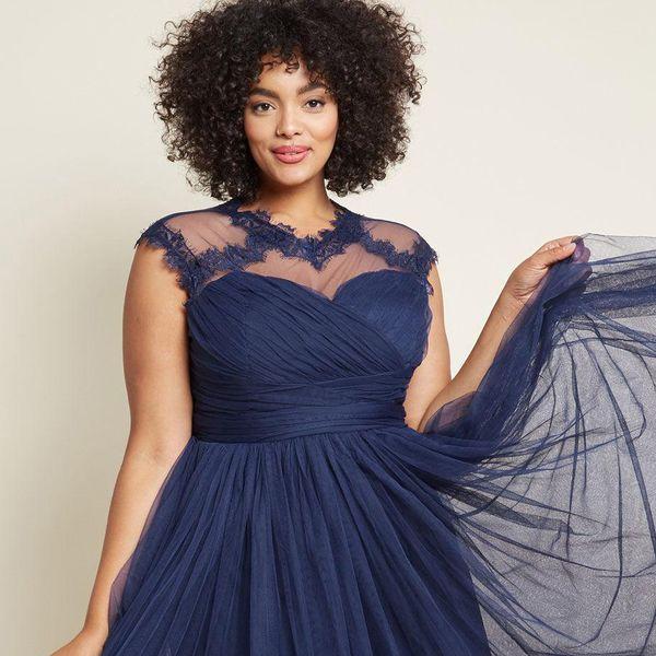 29 Gorgeous Plus-Size Wedding-Guest Dresses