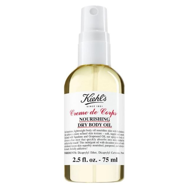 Kiehl's Crème de Corps Nourishing Dry Body Oil