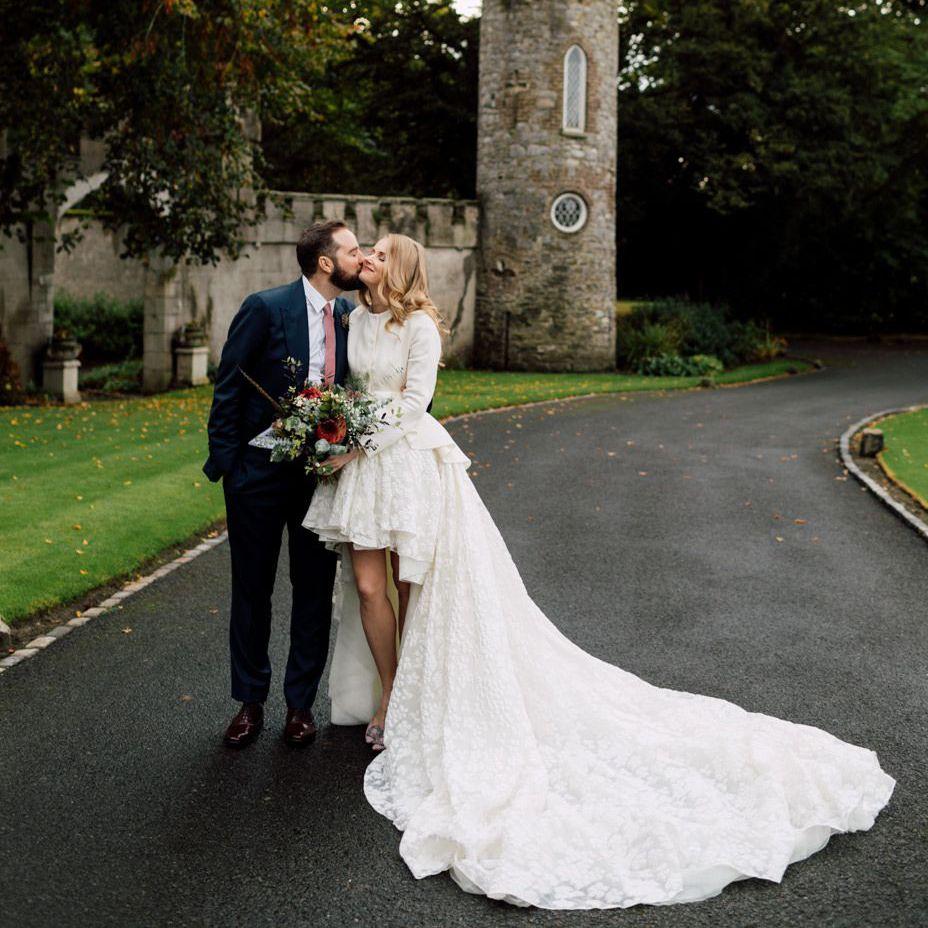 8 High-Low Wedding Dresses We Love