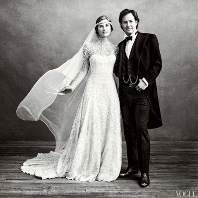 Lauren Bush marries David Lauren in Ralph Lauren, 2011